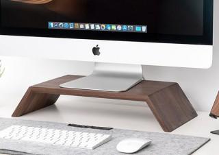 Gloture、木材使用で高級感がある耐荷重100kgのモニタースタンドを発売