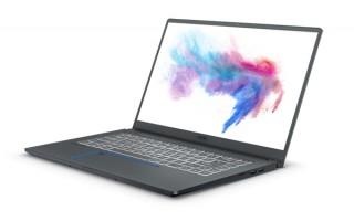 MSI、GeForce MAX-Qデザインを採用したクリエイター向け15.6型ノートPCを発売