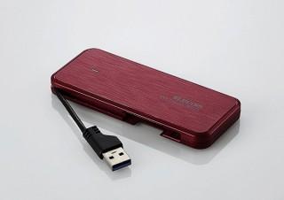 エレコム 、データ復旧サービス付きのポータブルSSD「ESD-ECシリーズ」を発売