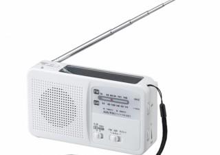 ヤザワ、スマホへ給電できるLEDライト搭載手回し充電ラジオを発売