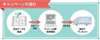 受注生産型の同人誌印刷サービス「ライブラ」が1冊無料のプレゼントキャンペーンを無期限で実施