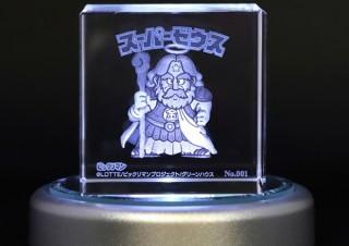 ムービック、「ビックリマン」のシリアルナンバー入りクリスタルアートを発売