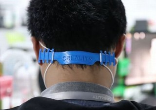 耳にかけないでいいからマスク痛み軽減、3Dプリンタで作れる「バックル」データ公開