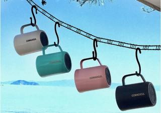スパイス、スライド式のフタ付きステンレス製マグカップを発売