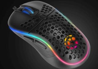 リンクス、左右対称デザインの軽量RGBゲーミングマウスをビックカメラ限定で発売