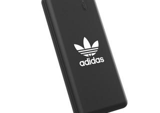 アディダス、トレフォイルロゴデザインのモバイルバッテリーを発売