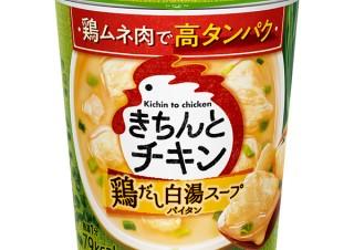 気になるフォント、知りたいフォント。 パッケージ『きちんとチキン 鶏だし白湯スープ』『きちんとチキン 鶏だし中華スープ』(2020.05.07)