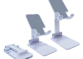上海問屋、スマホでもタブレットでも使える折りたたみ式スタンド「DN-915276」を発売