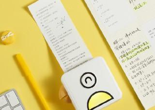 ちょこっと印刷に対応する秒速モバイルプリンター「Poooli(ポーリ)」が一般販売へ