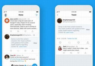 Twitter、有害で誤解を招くコロナ投稿に警告メッセージ・ラベル・削除を適用