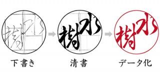 創業100年のはんこ屋・入江明正堂が、独自性のある行書体印影(電子印鑑)を期間限定・無料でデザイン
