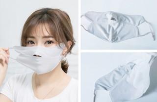 接触冷感で夏でも快適「ひんやり感覚マスク」発売