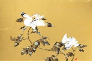 会場でもオンラインでも作品を楽しめる品川亮氏の個展「Nature's first green is gold,」