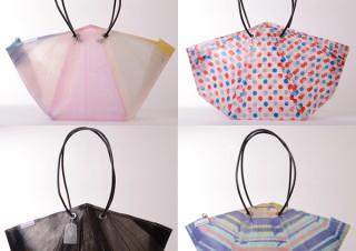 モンドデザイン、ビニール傘をアップサイクルしたトートバッグを発表