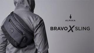 きびだんご、電子機器の発火リスクを対策したスリングバッグBravo X Slingを発売