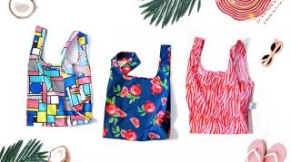 100%ペットボトルから作られたエコバッグ「KIND BAG」に鮮やかなサマーコレクションが登場