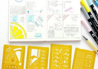 手帳づくりが楽しくなる「オリジナルテンプレート」4種発売。和気文具より
