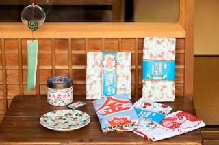 中川政七商店が「金鳥」ブランドとのコラボで蚊取り線香を模した風鈴など9種のアイテムを発売