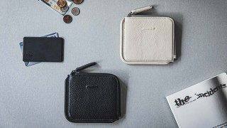 objcts.io、キャッシュレス派のためのスリムデザイン革財布Zip Walletを発売