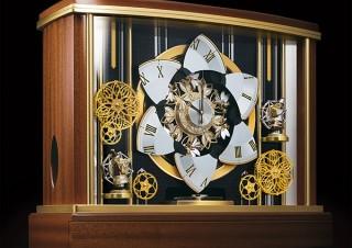セイコークロック、銀座のからくり時計がモチーフの高級大型置時計「輪舞メゾン」を発売