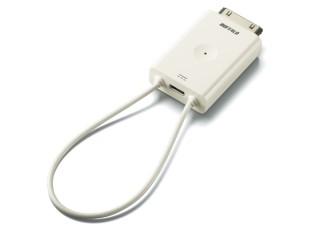 バッファロー、iPhone/iPod touch/iPad用ワンセグチューナー「ちょいテレi  DH-ONE/IP」
