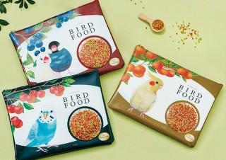 フェリシモ、本物の小鳥のフード入りのようなシャカシャカ鳴るポーチを発売