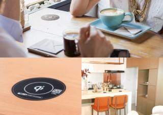 エス・アイ・シー 、テーブルへの埋め込みが可能なQiワイヤレス充電器を発売