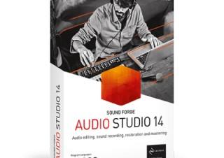 ソースネクスト、サウンド編集ソフト「SOUND FORGE Audio Studio 14」を発売