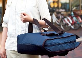 エコバッグに新形態! 傾けず運べる2wayショッピングバッグなど。セシールより