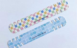 オリジナル印刷ができる「紙製マスクバンド」が登場。ノベルティ制作にも