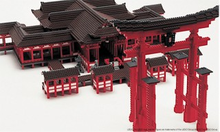 「レゴ ブロック」で世界遺産を再現した展覧会の第4弾が7年振りに広島PARCOで開催