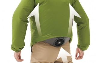 LOGOS、服の中に風を通す空調ベルト「野電 ボディエアコン・クールユニット」発売