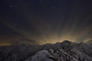 山岳写真家の菊池哲男氏の写真展「天と地の間に ~北アルプス 鹿島槍ヶ岳・五竜岳~」