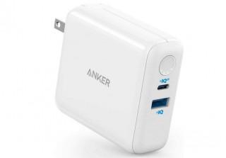 USB急速充電器&モバイルバッテリー一体型の「Anker PowerCore III Fusion 5000」