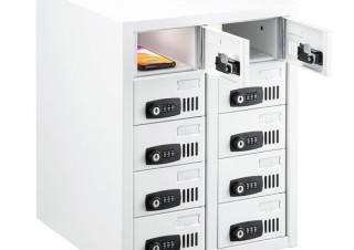 サンワサプライ、10台のスマホを個別に収納できる鍵つき保管庫「CAI-CABSP51」を発売