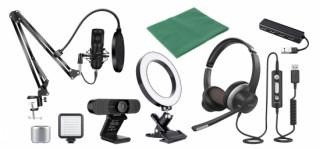 Cerevo、ヘッドセットやWebカメラなどを組み合わせたビデオ通話向けデバイスセットを発売