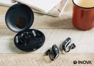 スリー・アール、耳を塞がないオープンイヤー型の完全ワイヤレスイヤホンを発売