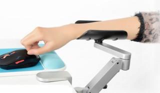 パソコンやゲーム時に腕の負担を軽くする「マウスアームスタンド SR-AM010」発売