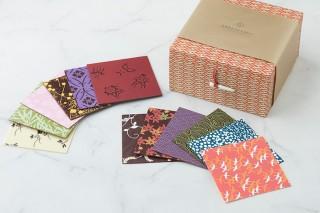 【お菓子連載・甘いときめき、小さな宝箱】第4回 千代紙を思わせる可憐さと繊細さ。日本の美意識を感じる「千代ちょこ」