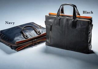 サンワサプライ、岡山デニムを豊岡で縫製した日本製ビジネスバッグを発売