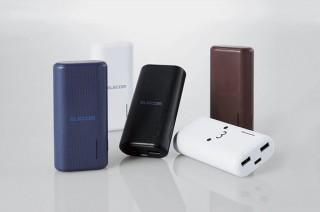 エレコム、2ポート仕様のモバイルバッテリー「DE-C23L-6700シリーズ」を発売
