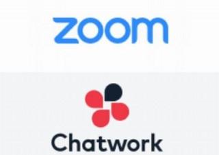 「Chatwork」と「Zoom」が連携! Chatwork上で招待してWeb会議に移行可能
