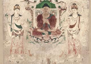 高精度な文化財複製を紹介している「東京藝術大学スーパークローン文化財展」