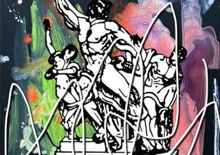 クリエイティブユニットENLIGHTENMENTのヒロ杉山氏による個展「DROP SHADOW」