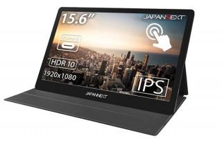 JAPANNEXT、Type-C接続でも使える15.6型モバイルディスプレイ「JN-MD-IPS1562TFHDR」