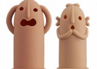 はにわの表情やポーズがとにかく可愛い、はにわモチーフの指サック「はにさっく」発売
