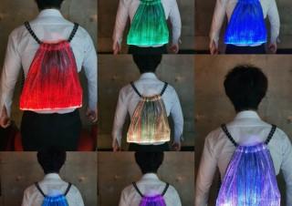 タカインターナショナル、「七色に輝く光るバックパック~フラッシュセブン~」を発売