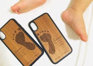 レーザー彫刻で作る、手足型オリジナルiPhoneケース