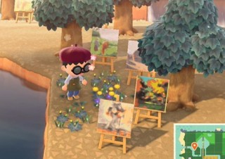 諸橋近代美術館、「あつまれ どうぶつの森」でマイデザインとして飾れるアート作品の第3弾を配布