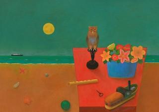 多元的なイメージを表現する小杉小二郎氏の個展「日常からの遁走 緩やかに時は流れ」
